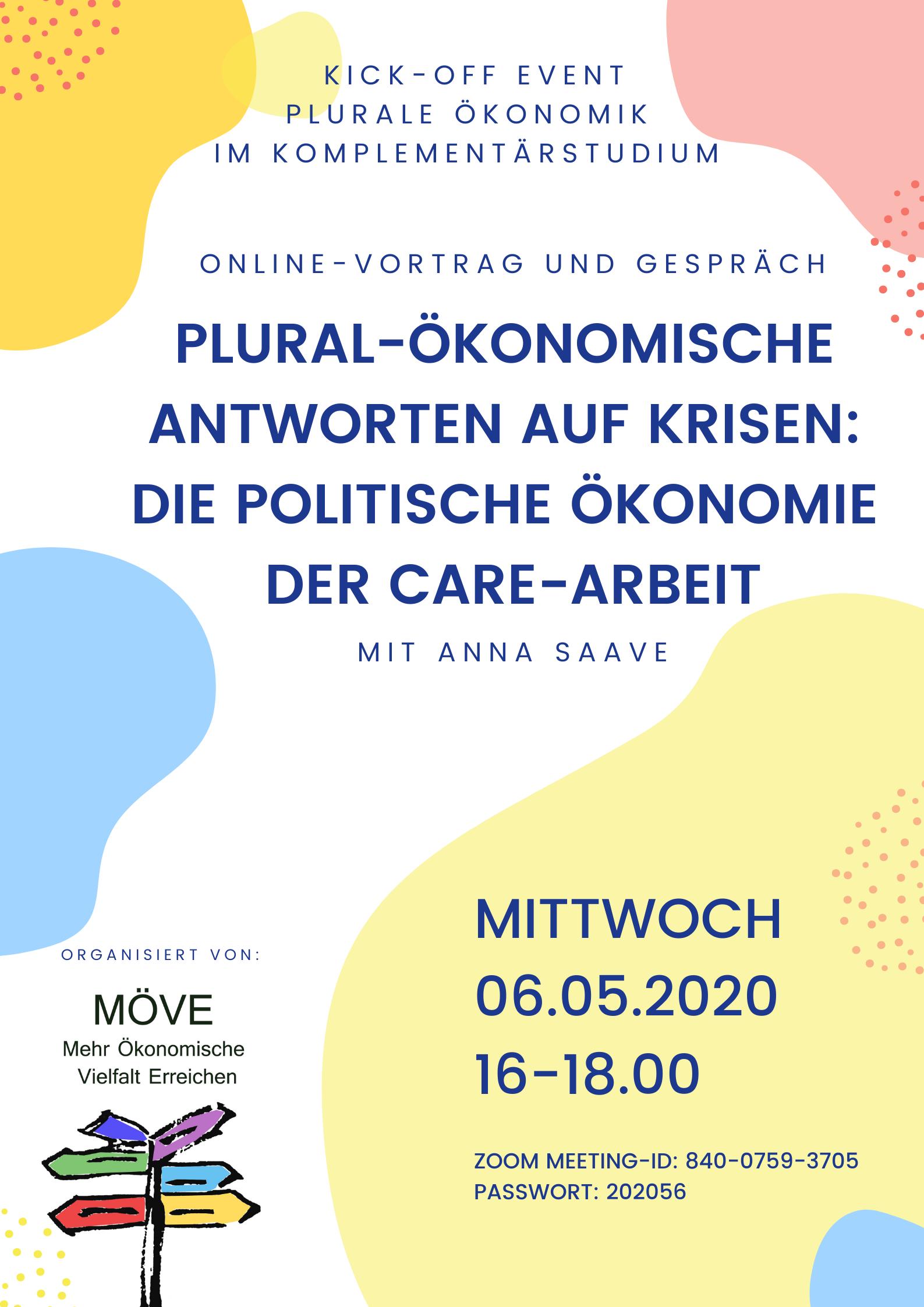 6.5. Online-Vortrag und Gespräch MÖVE